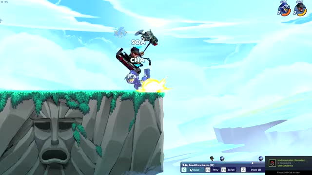 Watch and share Brawlhalla GIFs by w0408724 on Gfycat