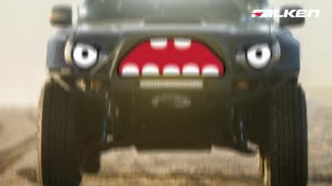 Watch and share Angry Car GIFs by Falken Tyres Australia on Gfycat