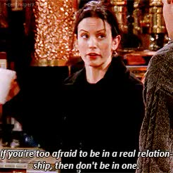 Watch friends monica chandler GIF on Gfycat. Discover more David Schwimmer, Joey Tribbiani, Matthew Perry, chandler and monica, chandler bing, courteney cox, friends, friends cast, gifs, matt leblanc, mondler, monica and chandler, monica geller, ross geller, season 5, season 5 episode 15, tv GIFs on Gfycat