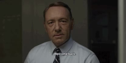 Watch this welcome GIF by Reaction GIFs (@sypher0115) on Gfycat. Discover more Kevin Spacey, welcome, welcome back, welcome home GIFs on Gfycat