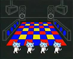 Watch and share Cats Dance Wii Dogs Wario Smooth Moves Warioware Jimmy T Jimmy P GIFs on Gfycat
