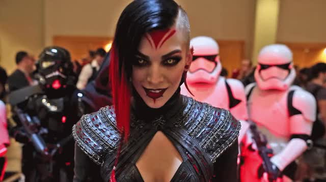 Watch and share Cosplaygifs GIFs and Dragoncon GIFs by britus on Gfycat