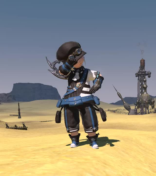 Watch and share Lalafell GIFs and Ffxiv GIFs by php_aoi on Gfycat