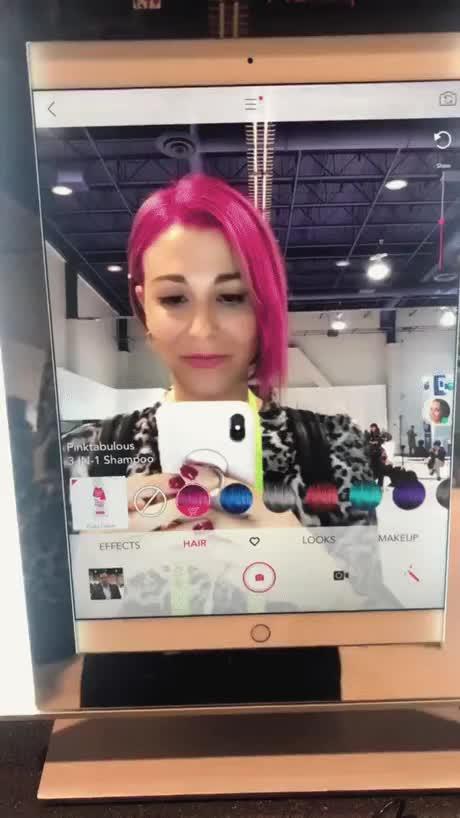 Watch and share AR Hair GIFs on Gfycat