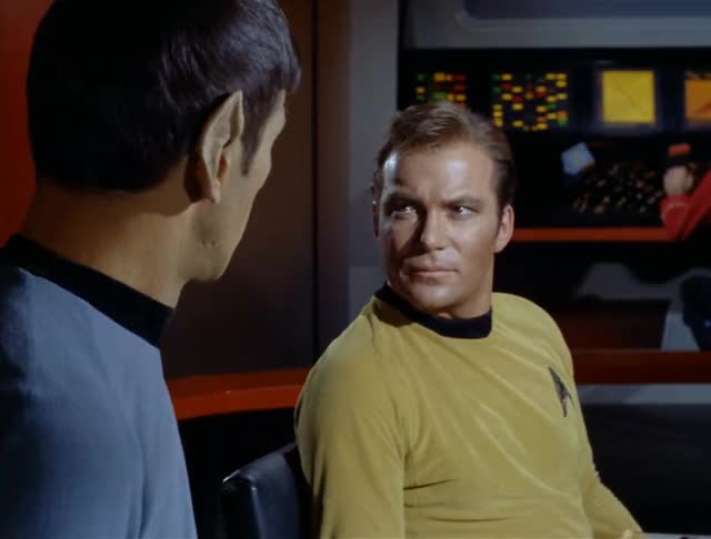 Watch and share William Shatner GIFs and Leonard Nimoy GIFs by Unposted on Gfycat