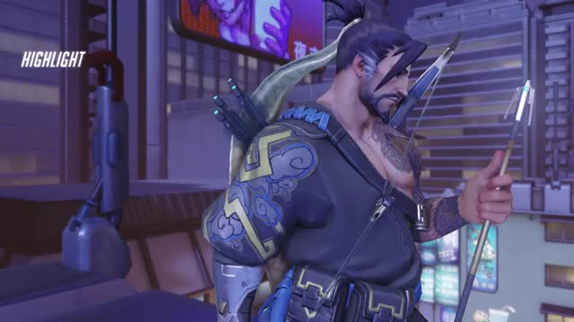 Watch Hanzo GIF by @theonlyluke on Gfycat. Discover more hanzo, highlight, overwatch GIFs on Gfycat