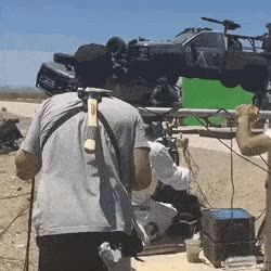 Watch and share How Action Movies Are Made GIFs on Gfycat