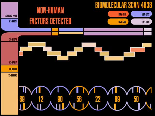 Watch Biomolecular Scan GIF by @chaosoverfiend on Gfycat. Discover more Star Trek GIFs on Gfycat