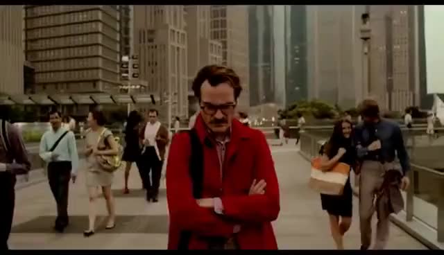 Watch and share Her - Joaquin Phoenix GIFs on Gfycat