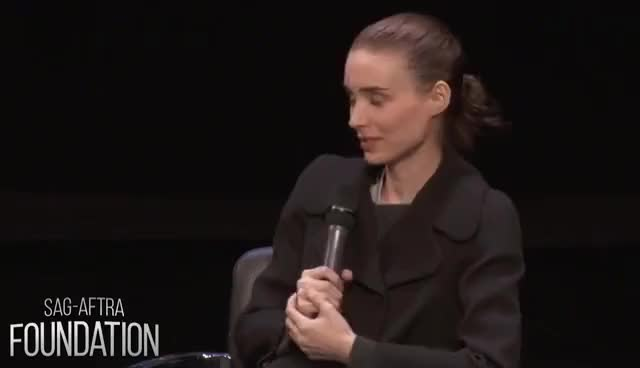 Watch Conversations with Rooney Mara of CAROL GIF on Gfycat. Discover more related GIFs on Gfycat