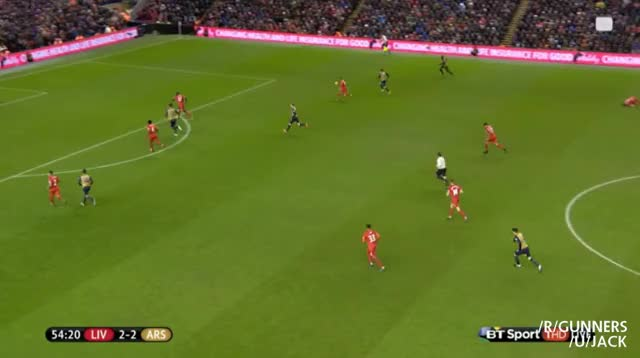 Watch Giroud's fantastic second vs. Liverpool (reddit) GIF on Gfycat. Discover more gunners GIFs on Gfycat