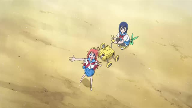 Watch and share Flip Flappers GIFs and Anime GIFs by Yumiko on Gfycat