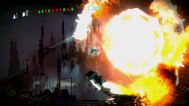 Watch and share Armageddon GIFs and Resogun GIFs by GamingPicks on Gfycat