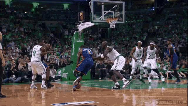 Watch Amar'e Stoudemire dominates Kevin Garnett & Jermaine O'Neal GIF on Gfycat. Discover more related GIFs on Gfycat