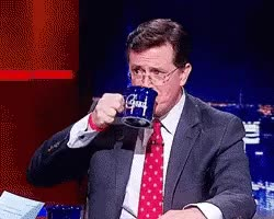 Watch and share Stephen Colbert GIFs and Spit GIFs on Gfycat
