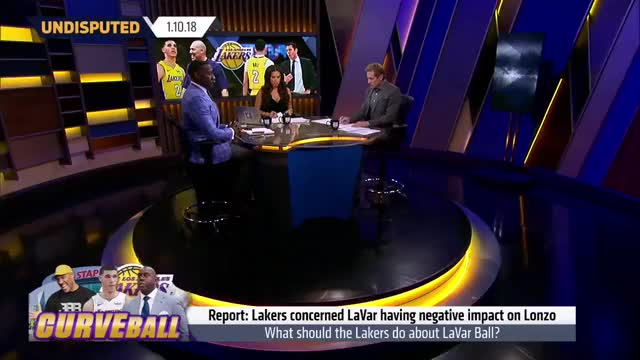 Watch Skip Bayless explains why 'it's Lonzo Ball vs Luke Walton' on the Lakers | UNDISPUTED GIF on Gfycat. Discover more bayless, bbb, fox, fox sports, fox sports 1, fs1, fs1 undisputed, joy taylor, lakers, los angeles lakers, nba, news, shannon, shannon sharpe, sharpe, skip, skip and shannon, skip bayless, sports, undisputed GIFs on Gfycat