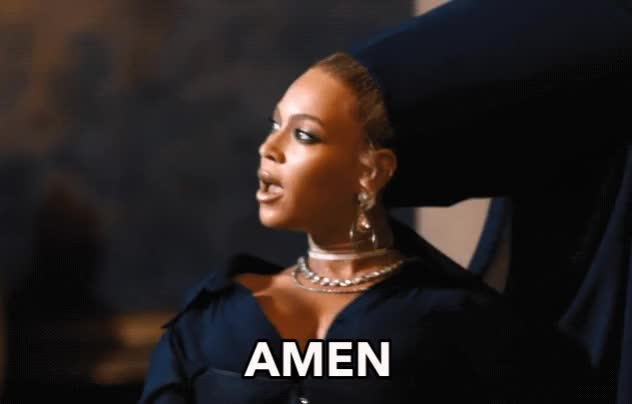 Watch and share Beyonce GIFs and Amen GIFs by Reactions on Gfycat