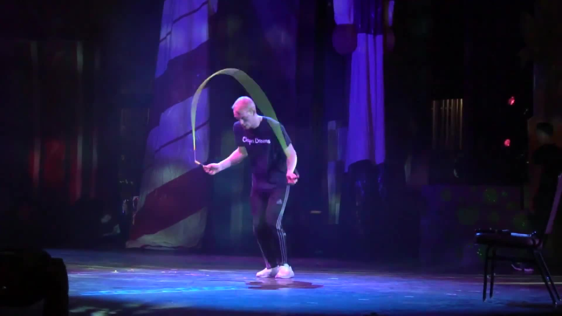 Film & Animation, WeJumpRope Music Videos, cirque dreams, double dutch, jump rope, wejumprope, November 2018 - Cirque, Laughing, and Scaring Billy GIFs