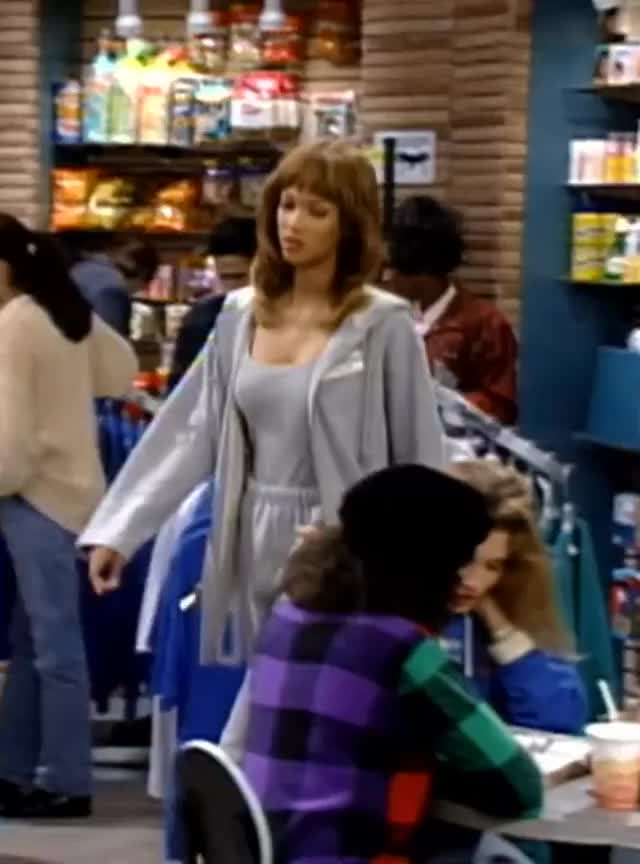 Watch and share Tyra Banks - Fresh Prince Of Bel Air 4x11 - 01 GIFs on Gfycat