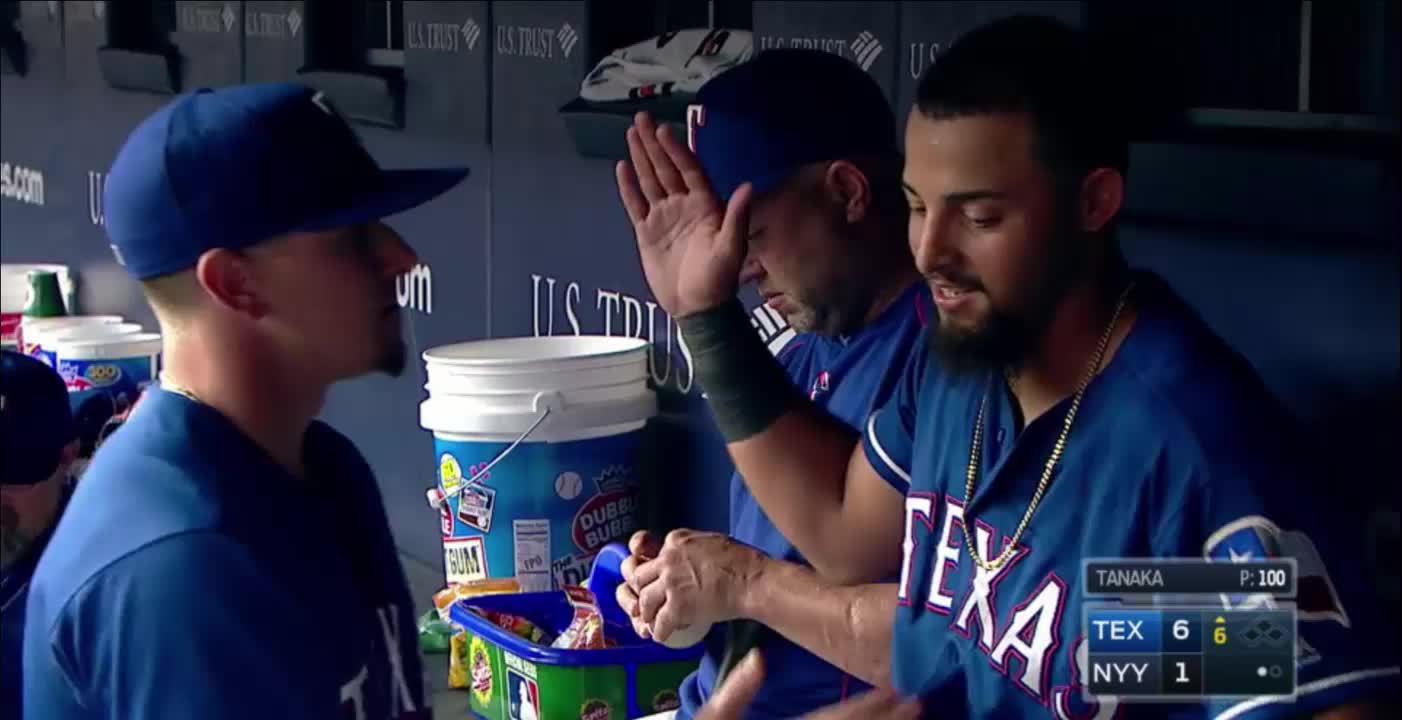 baseball, texasrangers, short version (reddit) GIFs
