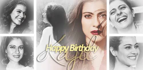 Watch and share Happy 41st Birthday GIFs and Kajol Devgan GIFs on Gfycat