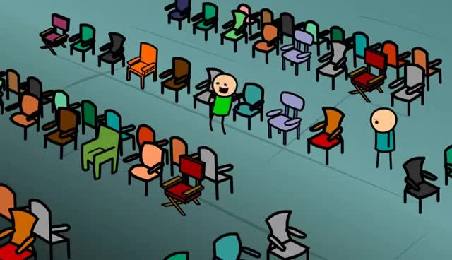 Watch and share Throwing Chairs GIFs on Gfycat