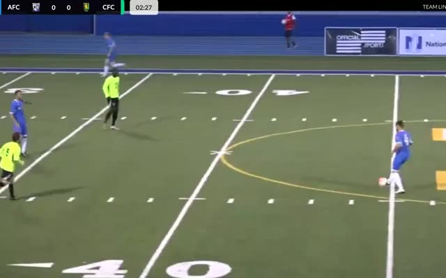 Watch Tom Beck's Nice Half-Volley to Give AFC Cleveland the Lead GIF on Gfycat. Discover more sports GIFs on Gfycat