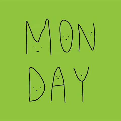 Watch this monday GIF by The GIF Smith (@sannahparker) on Gfycat. Discover more back to work, days of the week, monday, stickfiguregirl, week day GIFs on Gfycat