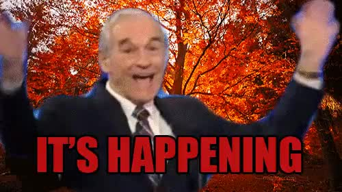 Watch IT'S HAPPENING : HighQualityGifs GIF on Gfycat. Discover more ron paul GIFs on Gfycat