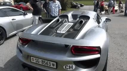 Watch and share 10. Porsche 918 Spyder GIFs on Gfycat