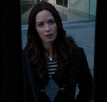 Watch and share Emily Blunt GIFs and Fuckyou GIFs by Reactions on Gfycat