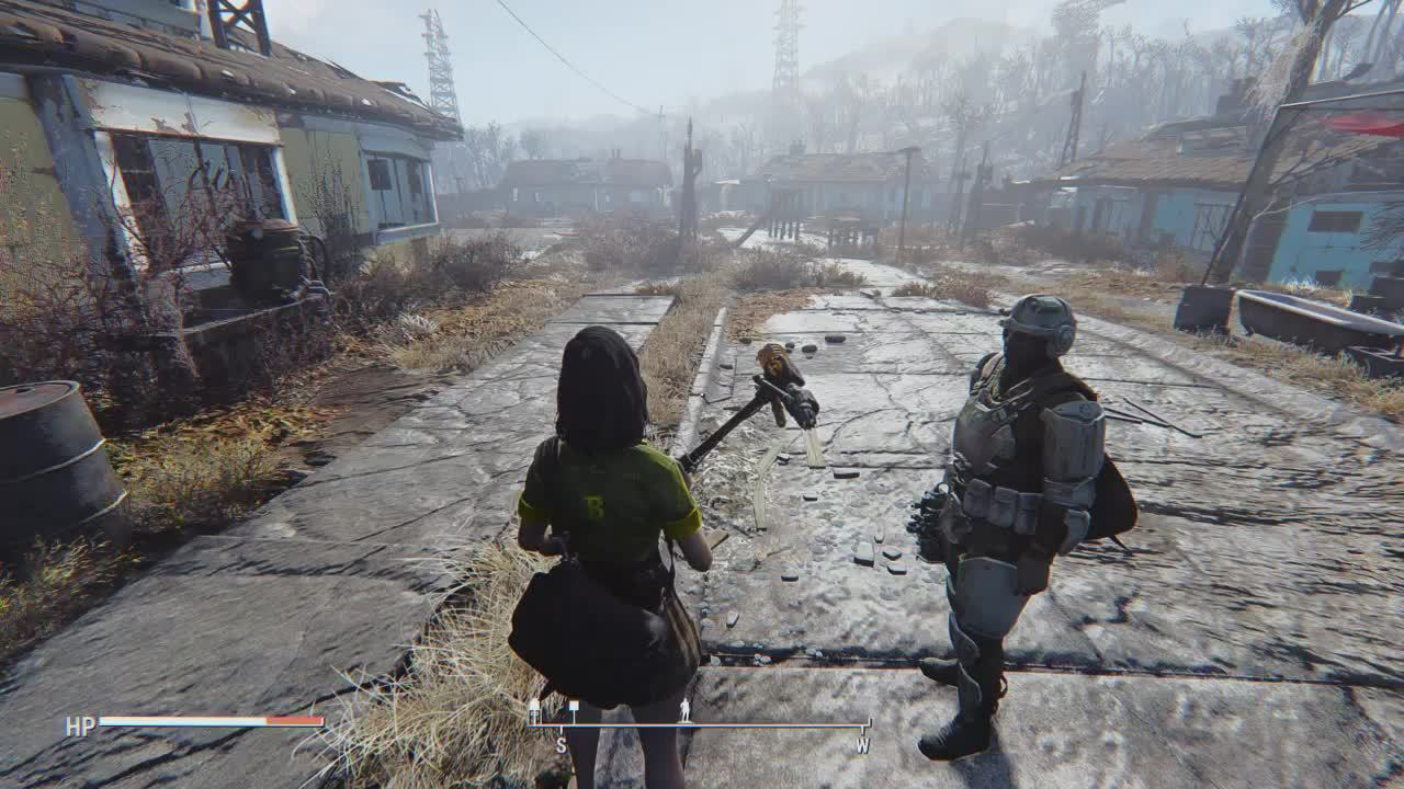 Fallout, FalloutMods, pcgamingtechsupport, fallout 4 weapon swap troubleshooting GIFs