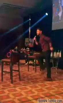 Watch Deal with it. ;-/ GIF on Gfycat. Discover more 1k, 2k, 3k, Felicia Day, JIB6, JIBCon, JIBCon 2015, Jensen Ackles, Misha Collins, Tahmoh Penikett, my gifs, my stuff, spn cast, spn con GIFs on Gfycat