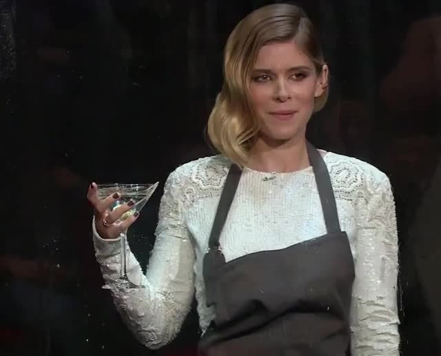 Watch and share Kate Mara GIFs and Cocktail GIFs by Reactions on Gfycat