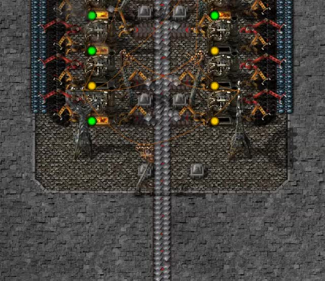 Watch Factorio belt compression differences in 0.16.25 (part 1/2) GIF by @haellsigh on Gfycat. Discover more Belt compression differences, Factorio GIFs on Gfycat