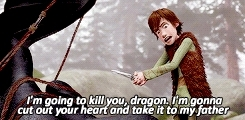 SURE u gun kill him AHAHAHAH, dreamworks, dreamworksedit, hiccup, how to train your dragon, httyd, httydedit, i cant believe im finally starting this, toothless,  HTTYD MEME [1/10] scenes GIFs