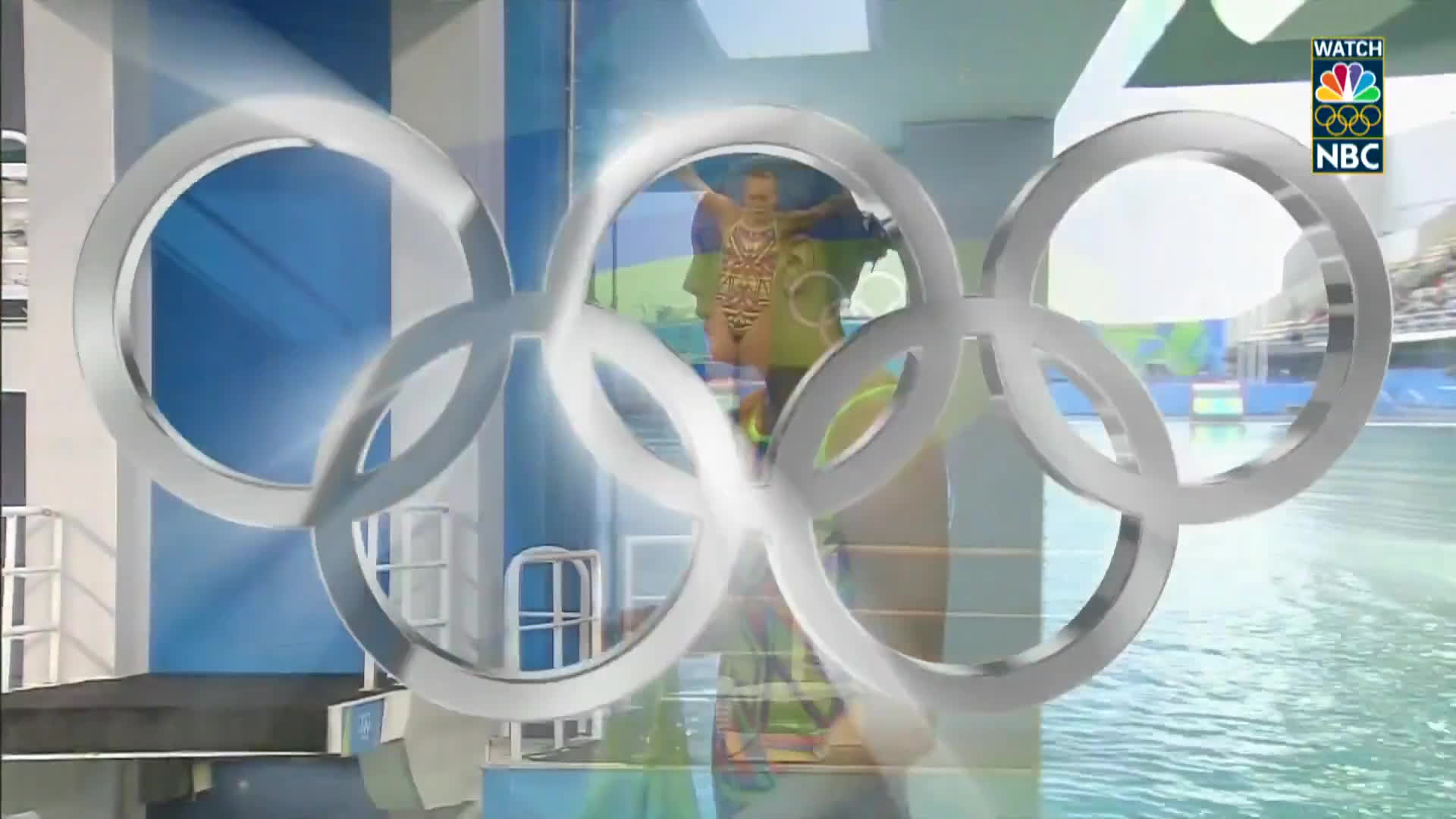 diving, nbc sports, olymgifs, Russian diver receives a zero for elaborate back flop GIFs