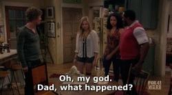 1x5, aisha dee, i hate my teenage daughter, kristi lauren, mackenzie miller, sophie watson, Hahahahaha. Oh Gary. GIFs