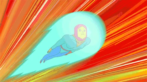 Watch [Manly] GIF by Cartoon Hangover (@cartoonhangover) on Gfycat. Discover more 2d animation, Frederatorblog, animation, cartoonhangover, cartoons, flying, jesse  moynihan, justin moynihan, manly, rocekt, space, spacebear, super powers, superpower GIFs on Gfycat
