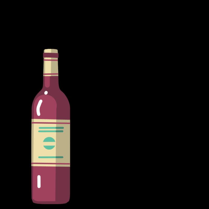 Celebration, alcohol, booze, drink, drinking, party, red wine, wine, wine bottle, Wine bottle GIFs