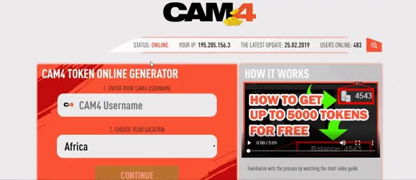 Watch and share Tokens Generator GIFs and Free Tokens GIFs by CAM4 Token Generator on Gfycat