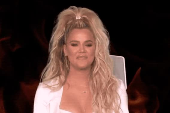 Watch and share Khloe Kardashian GIFs by Reactions on Gfycat