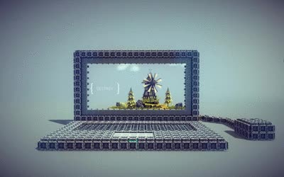 Watch laptop | Besiege GIF on Gfycat. Discover more related GIFs on Gfycat
