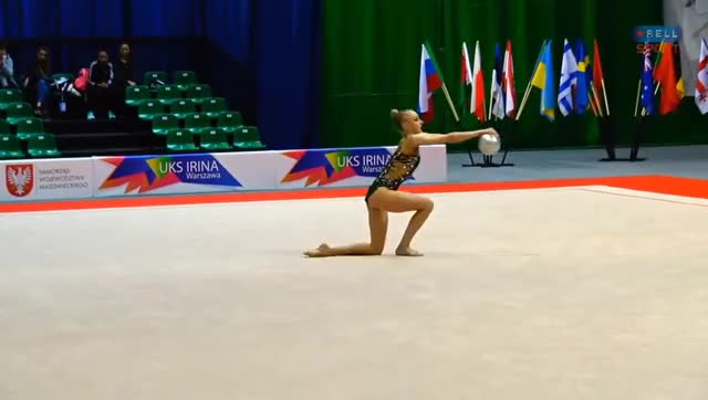 Watch and share Rhythmic Gymnastics GIFs and Back Flexibility GIFs on Gfycat