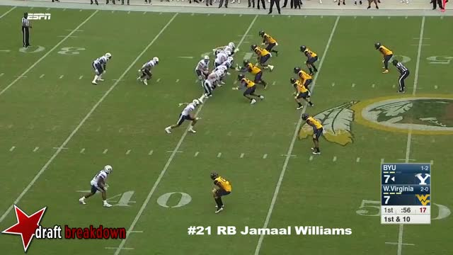 Watch and share Jamaal Williams GIFs and Draftsharks GIFs on Gfycat