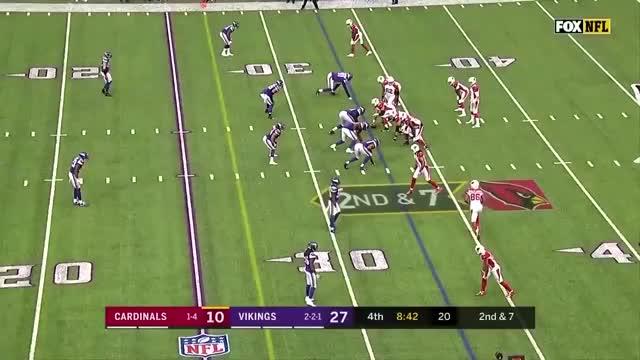 Watch David Johnson Reception GIF by @btbarret on Gfycat. Discover more Arizona Cardinals, Minnesota Vikings, football GIFs on Gfycat