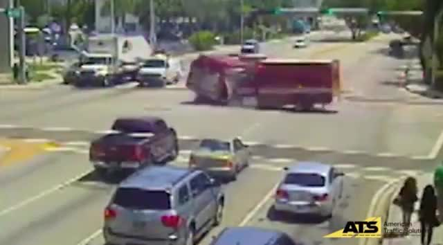 Watch AMBULANCE CRASHES INTO FIRE ENGINE GIF on Gfycat. Discover more accident, crash GIFs on Gfycat