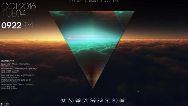 Watch and share Rainmeter GIFs by abusedacorn on Gfycat