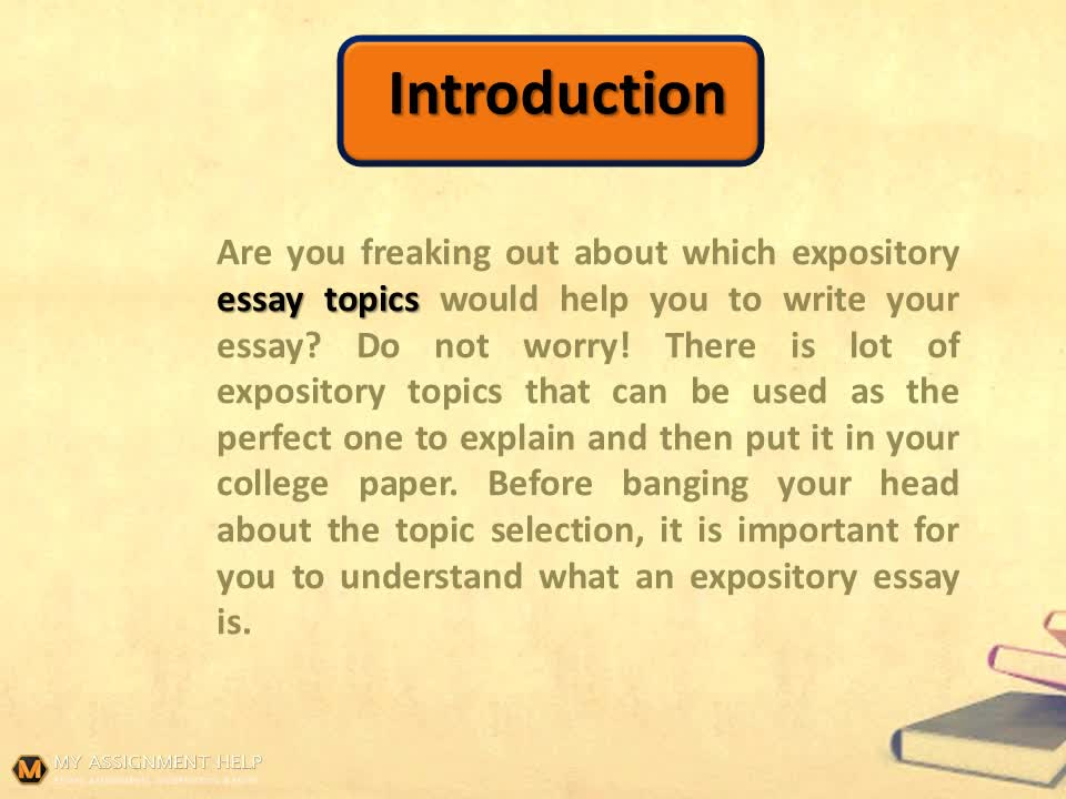 Essay On Self  How To Write Self Introduction Essay also How To Write A Good 5 Paragraph Essay  Powerful Expository Essay Topics That Will Make Your Teacher Love You  Video  Discursive Essays Examples