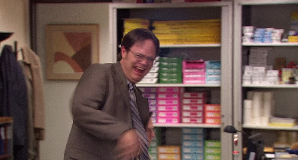 dundermifflin, reactiongifs,  GIFs
